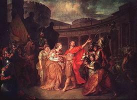 Прощание Гектора с Андромахой (А.П. Лосенко, 1773 г.)