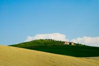 Поля и виноградники Тосканы