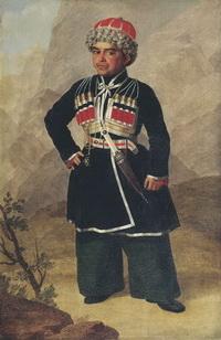 Ахметка, карлик Николая I (Зауервейд)