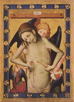 Муж скорбей (Мастер Франке, ок. 1420 г.)