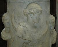 Скульптура Алтарь Селены ( богини Луны )