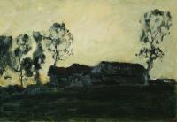 Избы. 1899