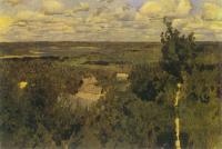 Васильсурск. Деревенская панорама. 1887