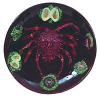 Керамическое блюдо (Б. Палисси)
