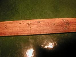 Деревянный аршин