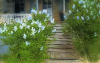 Белая сирень (Дом в Островно, И. Левитан)