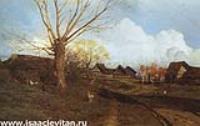 Саввинская слобода под Звенигородом. 1884