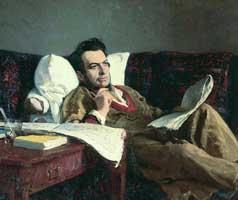 М.И. Глинка в период сочинения оперы Руслан и Людмила (И.Е. Репин)