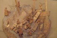 Деревянный Челюскин (Богородская резьба)