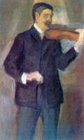 Портрет В.М. Матюшина (Е.Г. Гуро)