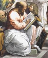 Пифагор (Рафаэль Санти, фреска «Афинская школа»)
