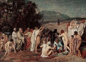Явление Христа народу (А. Иванов, до промывки)