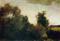 Деревья и кусты. 1880-е