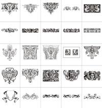 Старинные типографские виньетки