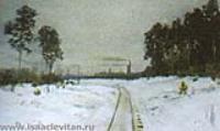 Серый день. Пастель. Середина 1890-х