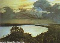 Над вечным покоем. Этюд. 1893-1894