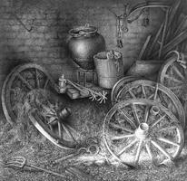 Рисунок Гурама Доленджашвили (карандаш)