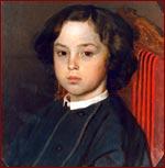 """И.Е.Репин """"Портрет мальчика"""" 1867 г."""