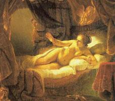 Даная (Рембрант)