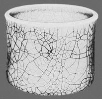 Китайская ваза (кракле, 18 век)
