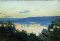 Вечер на Волге. 1888