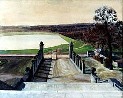 """Бенуа А.Н. """"Версаль. Вид с лестницы"""""""