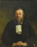 Портрет историка Н.И. Костомарова (Н. Ге)