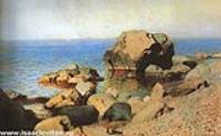 Берег моря. Крым. 1886