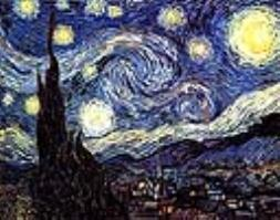 Винсент Ван Гог. Картина Звездная ночь