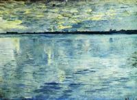Озеро. Вечер. 1898-1899