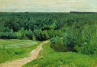Лесные дали. 1880-1890-е