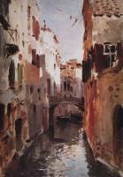 Канал в Венеции. 1890