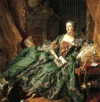 Портрет маркизы де Помпадур (Ф. Буше, 1756 г.)