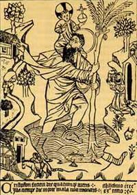Св. Христофор с младенцем (1476 г.)