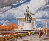 """Картина """"Серп и молот"""", 1982 год"""