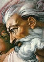 Св.Искусство. Микеланджело. Сотворение Адама (деталь)