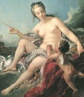 Венера, обезоруживающая Купидона (Ф. Буше)