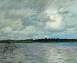 Озеро. Серый день (И. Левитан)