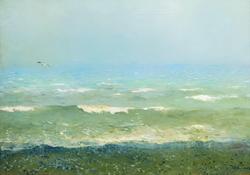 Берег Средиземного моря. 1890 (И. Левитан)