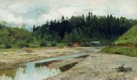 Лесная речка. 1886-1887