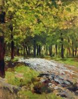 Дорога в лесу. 1880-е