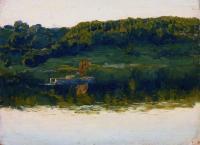 На Волге. 1888