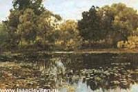 Заросший пруд. 1887