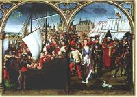Мученичество Урсулы, Ханс Мемлинг, 1489 г