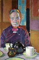Портрет миссис Маунтер за завтраком
