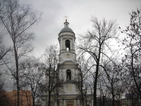 Колокольня Князь-Владимирского собора в Санкт-Петербурге
