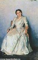 Портрет С.П. Кувшинниковой. 1888
