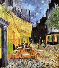 Кафе вечером (Винсент ван Гог)