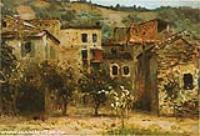 Близ Бордигеры. На севере Италии. 1890