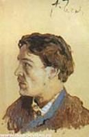 Портрет А.П. Чехова. 1885-1886